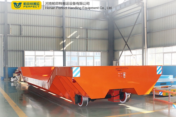 Low speed industrial transportation loading and unloading tr