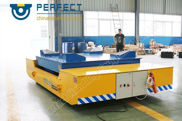 New factory construction using cross lift machine